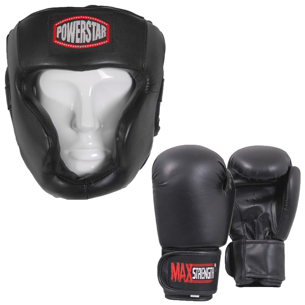 Boxing Gloves And Headgear | maxstrength.net