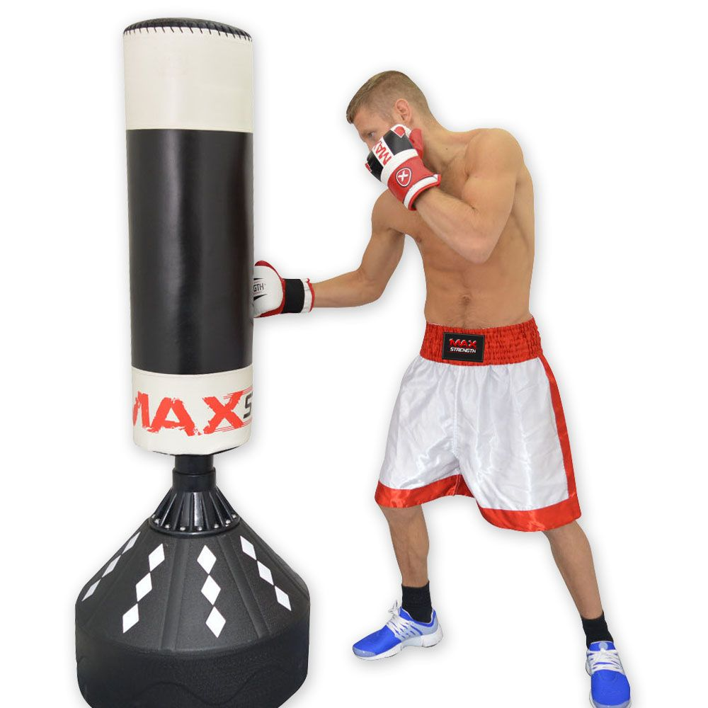 free standing punch bags and punch bag stand. Black Bedroom Furniture Sets. Home Design Ideas
