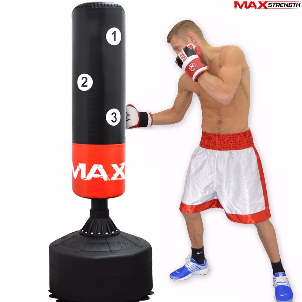 Free standing martial arts punch bag for Free standing
