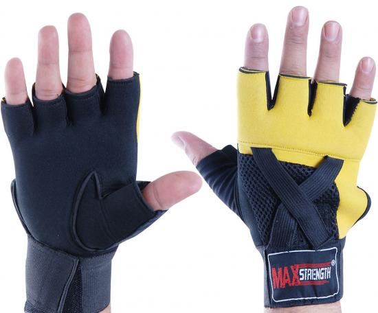 Body Building Gel Padded Cycling Gloves